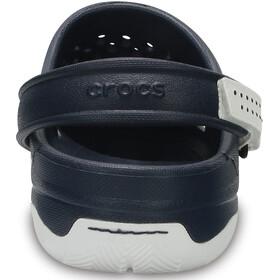 Crocs Swiftwater Deck Clogs Men Navy/White